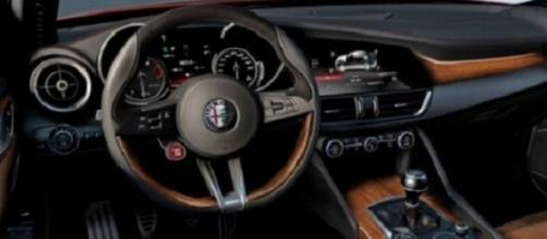 Alfa Romeo Giulia: ecco gli interni