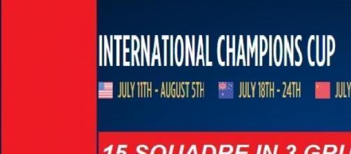 Calendario International Champions Cup 2015