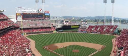 Great American Ballpark en Cincinnati, Ohio.
