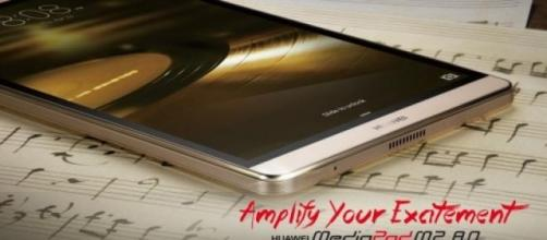 Huawei: ecco il suo Mediapad M2