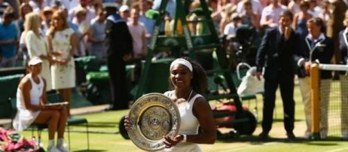 Serena Williams took another Wimbledon title
