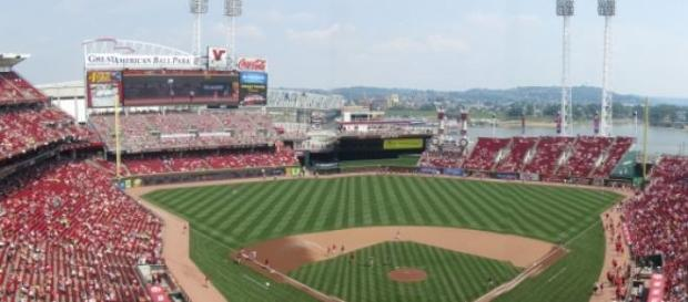 Great American Ballpark en Cincinnati, Ohio.