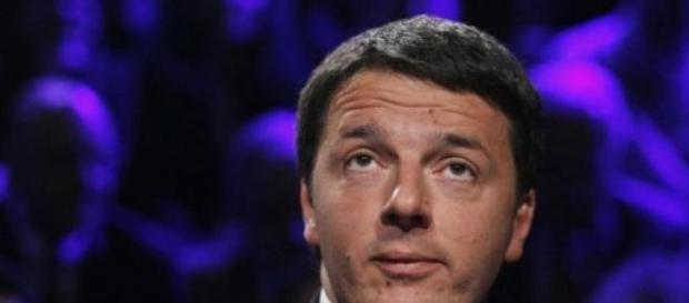 Matteo Renzi in televisione