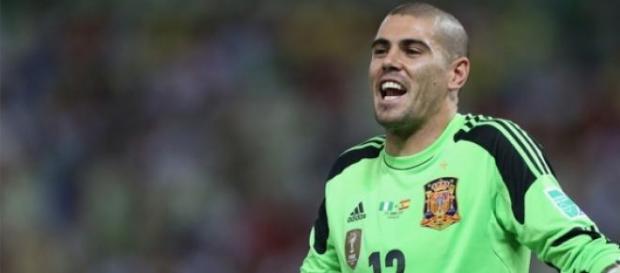 Valdés está de saída do Manchester.
