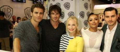 O elenco de 'The Vampire Diaries' na Comic-Con