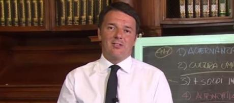 Riforma Scuola e il 'docente' Matteo Renzi