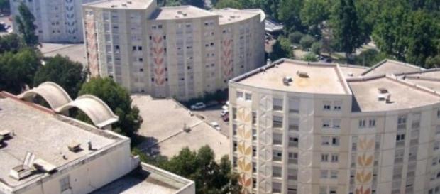 Bairro de Moulins - zona problemática de Nice