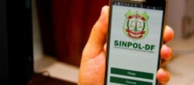 Lançamento do Aplicativo Sinpol-DF