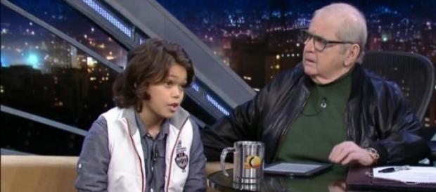 No ar no SBT, ator aparece na Globo