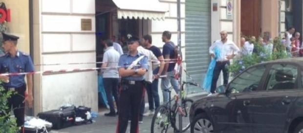 Roma, rapina a una gioielleria finisce in tragedia