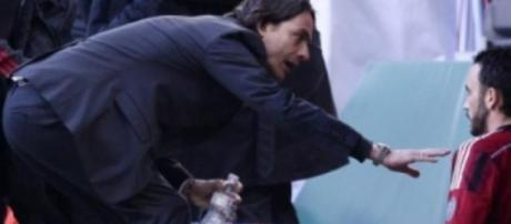Inzaghi e Pazzini al Milan