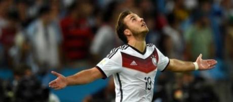 Mario Gotze, centrocampista del Bayern