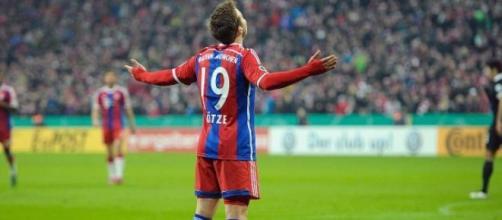 Gotze in maglia Bayern Monaco