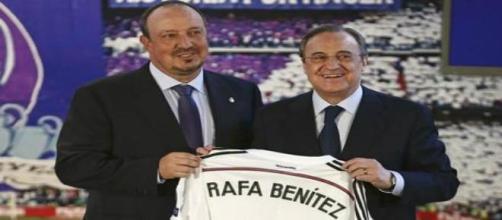 La presentazione di Rafa Benitez