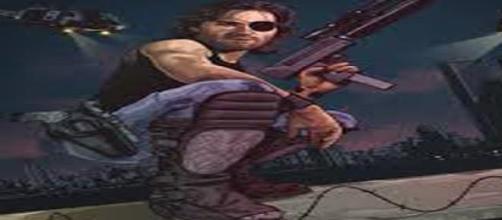 Kurt Russell como mercenario