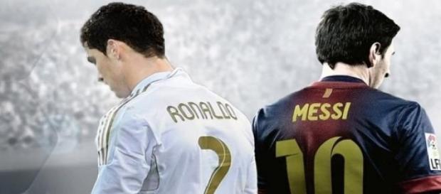 Cristiano Ronaldo e Lionel Messi.