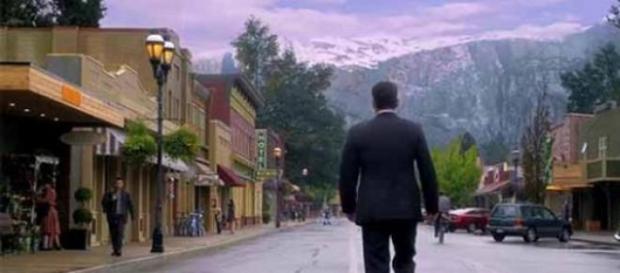 Ethan Burke (Matt Dillon) en  Wayward Pines
