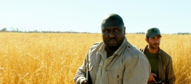 Nonso Anozie and James Wolk in Zoo.