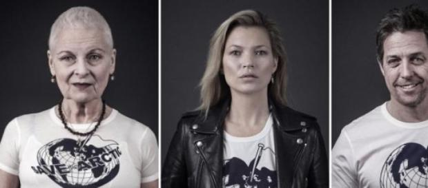 Vivienne Westwood's campaign to 'Save the Arctic'