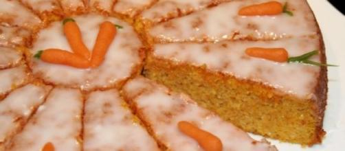 L'allegro arancione della carrot cake.