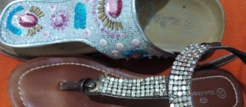 Los brillos están de moda y no solo en los zapatos