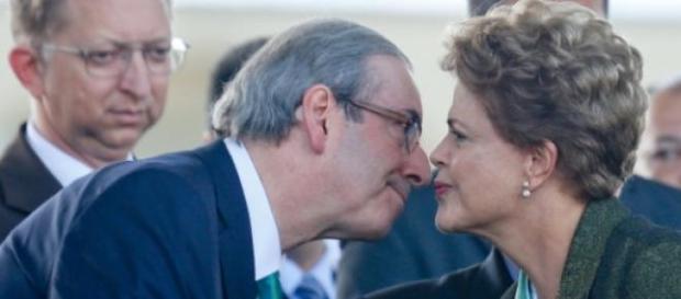 O clima é tenso entre Cunha e o governo federal