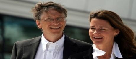Bill e Melinda Gates com mais um aliado de peso