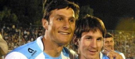 Zanetti es quien más veces vistió la albiceleste