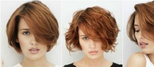 Taglio capelli bob corti