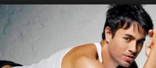 Il cantante Enrique Iglesias