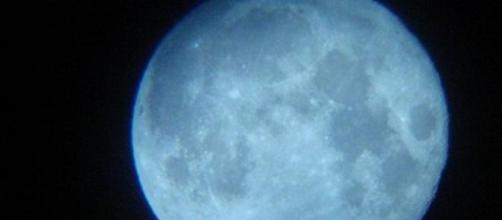 Luna llena, del fenómeno Luna Azul