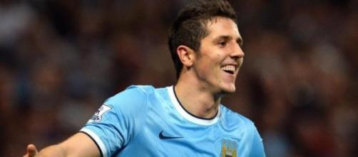 Stevan Jovetic, 25enne attaccante del City