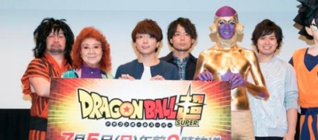 Evento presentación de Dragon Ball Super