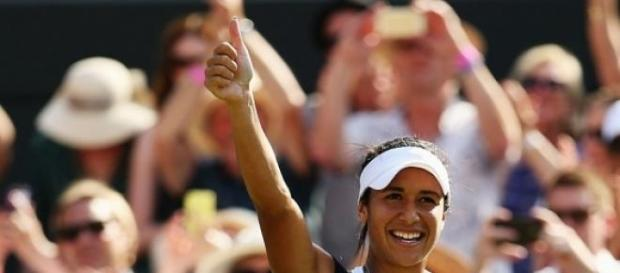 Heather Watson defeated Daniela Hantuchova
