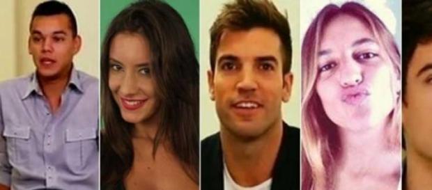 Los cinco nuevos nominados de Gran Hermano 2015
