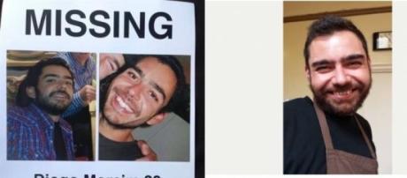 Diogo está desaparecido desde terça feira