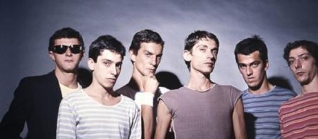La banda en sus inicio en 1981