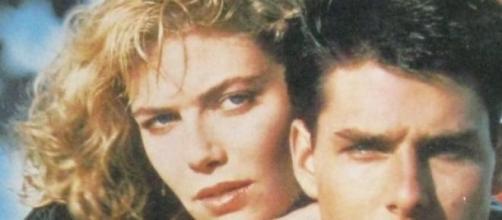 Kelly McGillis y Tom Cruise, películaTop Gun