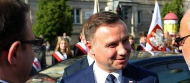 Andrzej Duda po powrocie z Włoch.