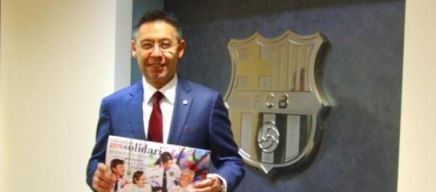 Bartomeu, nuevo presidente del FC Barcelona
