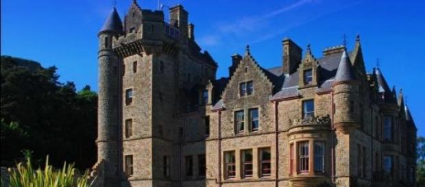 Zamek w Belfaście  - stolicy Irlandii Północnej