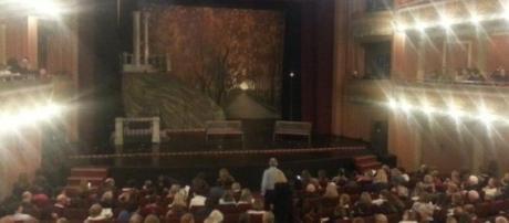 Teatro Real en el estreno de Parque Lezama.