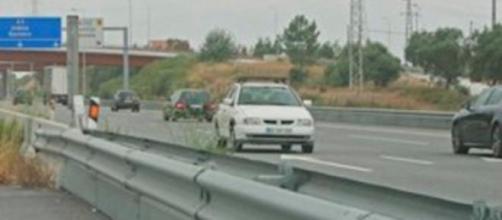 Idoso intercetado em contramão na A25.