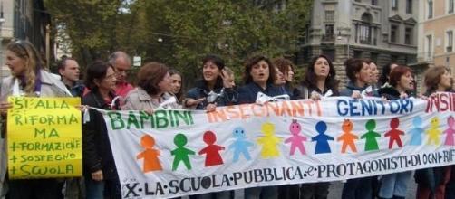 Le tante azioni di protesta contro la Buona Scuola