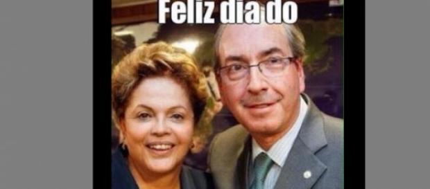Cunha 'trolla' Dilma e pede apuração da verdade