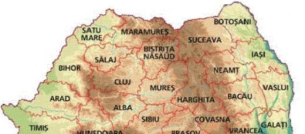 Denumirea județelor din România
