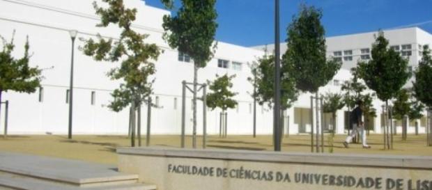 Entrada da Faculdade de Ciencias da ULisboa