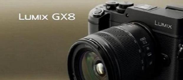 Pansonic's Lumix GX8 camera
