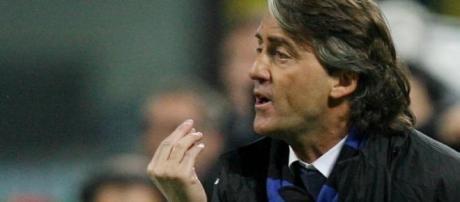 Mancini arrabbiato con l'arbitro