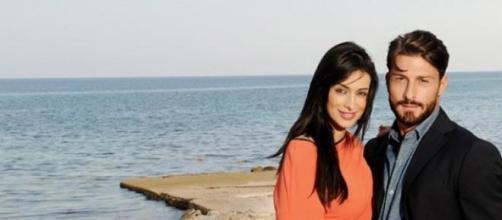 Amedeo Andreozzi insieme alla fidanzata Alessia
